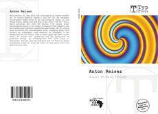 Anton Reiser kitap kapağı