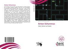Couverture de Anton Schammas
