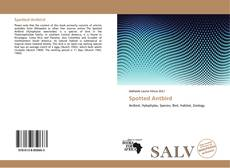 Bookcover of Spotted Antbird