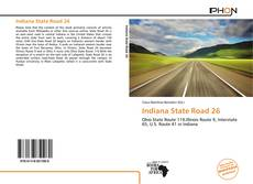 Bookcover of Indiana State Road 26