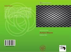 Buchcover von Anton Mauss