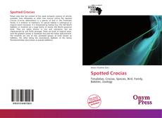 Bookcover of Spotted Crocias