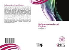 Обложка Rollason Aircraft and Engines