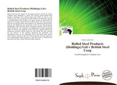 Portada del libro de Rolled Steel Products (Holdings) Ltd v British Steel Corp