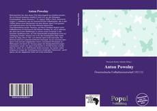 Portada del libro de Anton Powolny