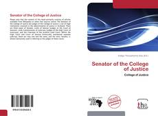 Bookcover of Senator of the College of Justice
