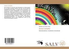Anton Schäfer kitap kapağı