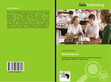 Betriebsbuch kitap kapağı