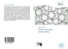 Bookcover of Anton Schnack