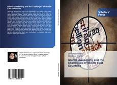 Couverture de Islamic Awakening and the Challenges of Middle East Countries