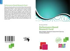Couverture de Performance Based Research Fund