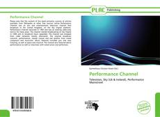 Buchcover von Performance Channel
