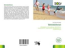 Buchcover von Betriebsferien