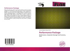 Bookcover of Performance Package