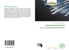 Bookcover of Performance Status