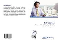 Portada del libro de Betriebsfunk