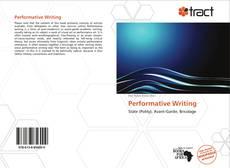 Buchcover von Performative Writing