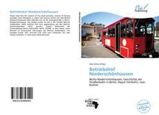 Buchcover von Betriebshof Niederschönhausen