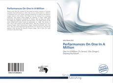 Bookcover of Performances On One In A Million