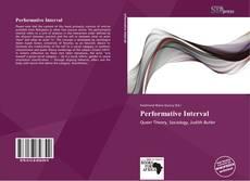 Обложка Performative Interval