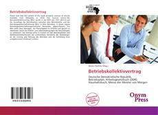 Bookcover of Betriebskollektivvertrag