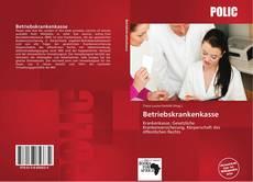 Bookcover of Betriebskrankenkasse