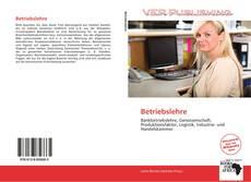 Capa do livro de Betriebslehre