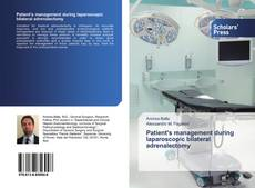 Capa do livro de Patient's management during laparoscopic bilateral adrenalectomy