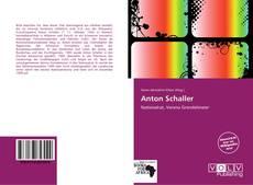 Buchcover von Anton Schaller