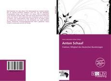 Borítókép a  Anton Schaaf - hoz