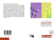 Buchcover von Anton Müller (Schriftsteller)