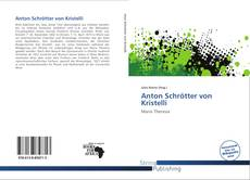 Couverture de Anton Schrötter von Kristelli