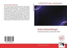 Borítókép a  Anton Schoendlinger - hoz