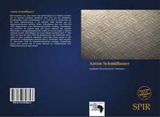 Bookcover of Anton Schmidbauer