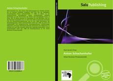 Bookcover of Anton Schachenhofer