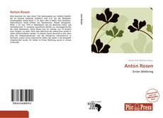 Capa do livro de Anton Rosen
