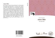 Buchcover von Anton Tiller