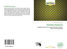 Capa do livro de Perikles Kakousis