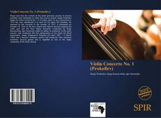 Bookcover of Violin Concerto No. 1 (Prokofiev)