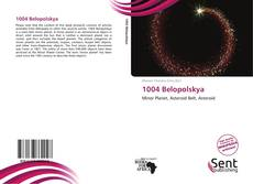 Bookcover of 1004 Belopolskya