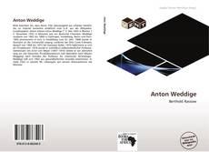 Buchcover von Anton Weddige
