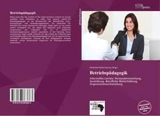 Capa do livro de Betriebspädagogik