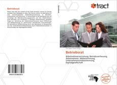 Buchcover von Betriebsrat