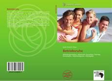 Buchcover von Betriebsruhe