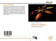 Portada del libro de Anton von Rieppel