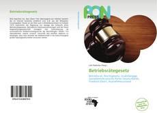 Portada del libro de Betriebsrätegesetz