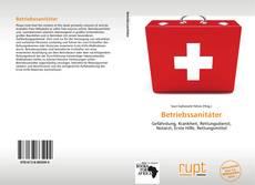 Buchcover von Betriebssanitäter