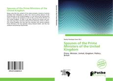 Buchcover von Spouses of the Prime Ministers of the United Kingdom