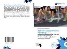 Betriebssportverband Hamburg kitap kapağı