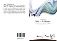 Buchcover von Spout of Ballochleam